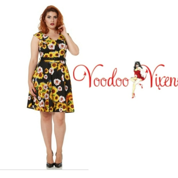 eca66665e285 Voodoo Vixen Dresses   Sunflower Bianca Dress From   Poshmark